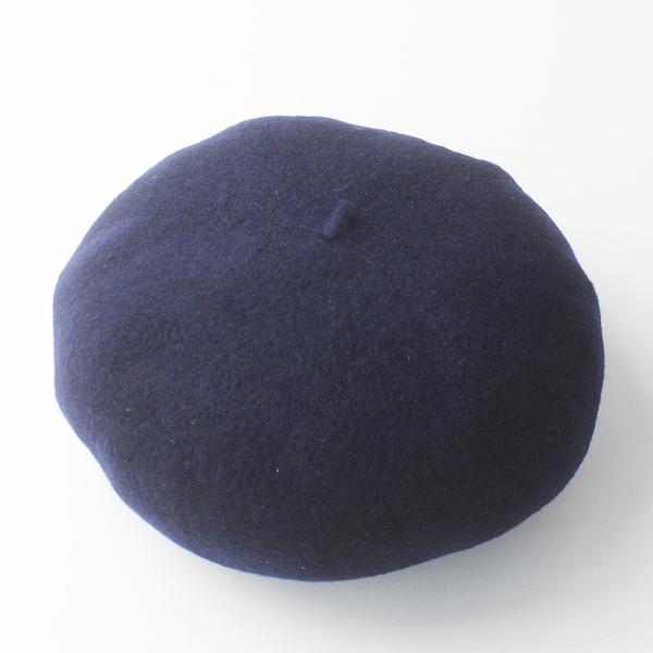 baccalaureat バカロレア フェルトウール ベレー帽 / ネイビー 帽子 ぼうし【2400011658494】