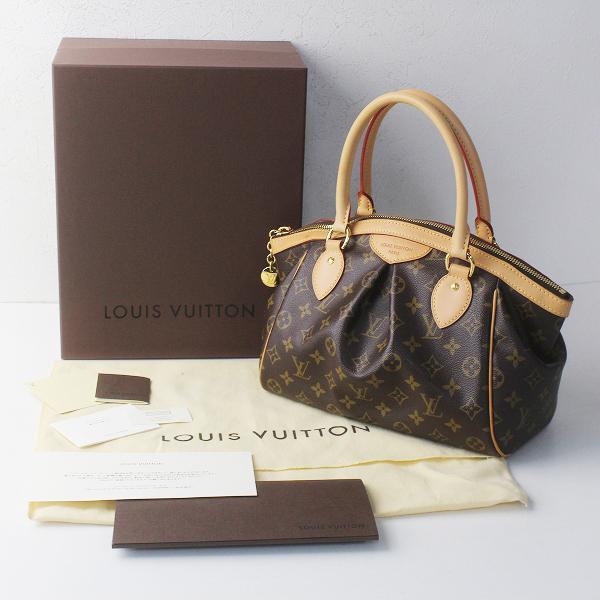 廃盤 美品 定番 人気 LOUIS VUITTON ルイヴィトン M40143 モノグラム ティヴォリ PM レザーハンドバッグ/鞄 BAG かばん【2400011661487】