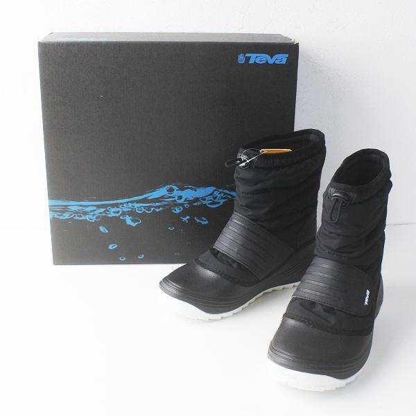 未使用品 TEVA テバ U VERO BOOT 2 シンサレート スノーブーツ23cm/ブラック ベロ レディース【2400011662521】