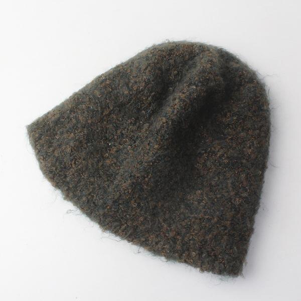 CA4LA カシラ ブークレウールビーニーキャップ/帽子 ニットキャップ【2400011670113】
