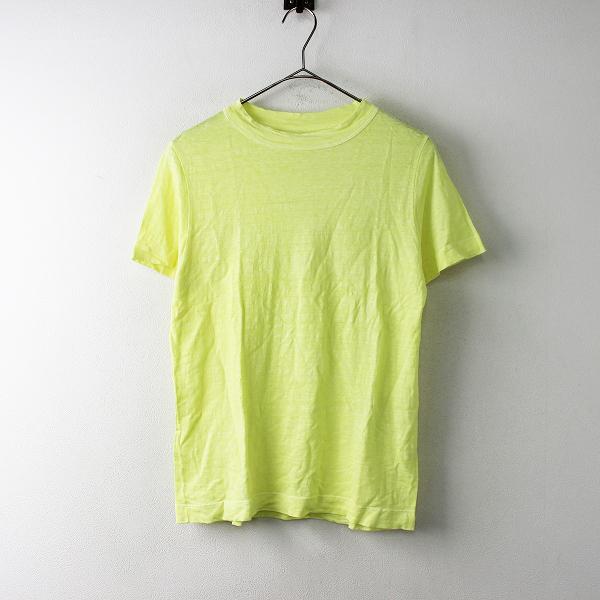 45R フォーティファイブ リネンTシャツ 3/イエロー カットソー 45rpm【2400011675033】