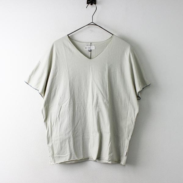 sou sou ソウソウ コットン 袖なしジバン Vネック Tシャツ S/トップス カットソー 京都【2400011676375】