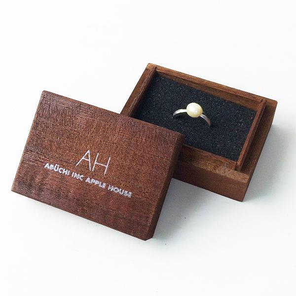 未使用品 AH APPLE HOUSE アップルハウス 淡水パール リング 11号/指輪 アクセサリー【2400011681508】