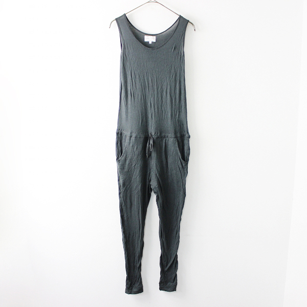 pyjama clothing ピジャマクロージング コットン ノースリーブ オールインワン FREE/グリーン シンプル【2400011683090】