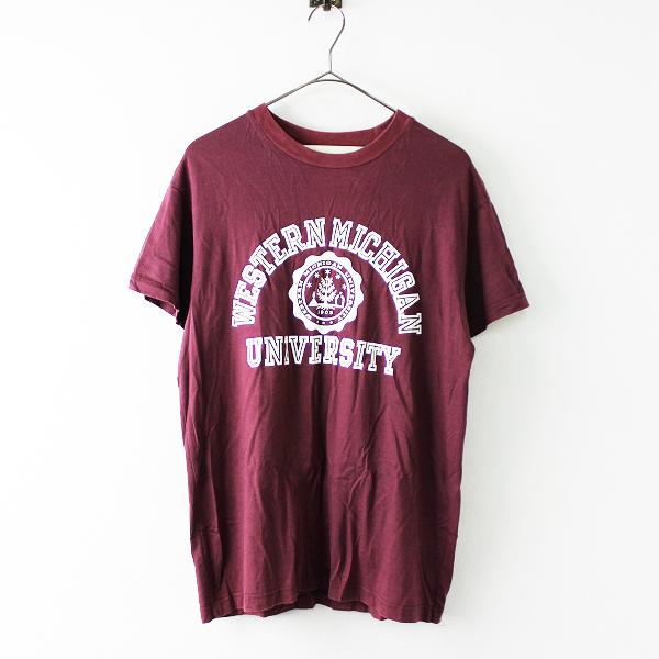 THE SHINZONE シンゾーン プリント クルーネック Tシャツ F/エンジ トップス 半袖【2400011683816】