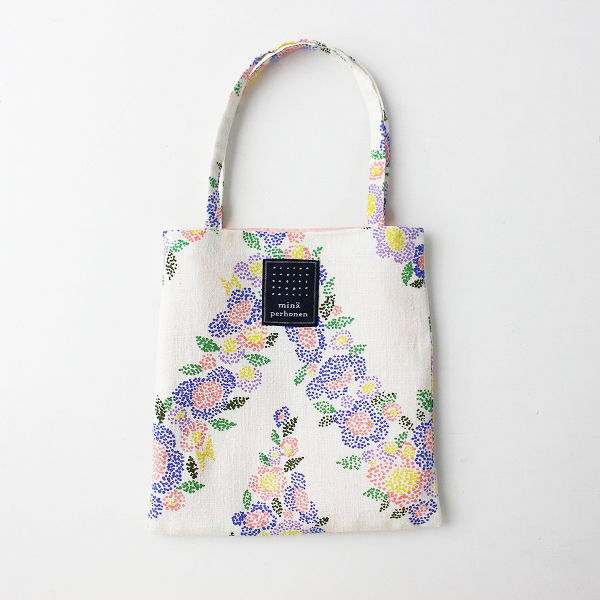 mina perhonen ミナペルホネン flower curtain ミニバッグ /鞄 小物 花柄【2400011686114】