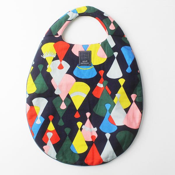 美品 mina perhonen ミナペルホネン tepee マルチプリント エッグバッグ / egg bag【2400011686565】