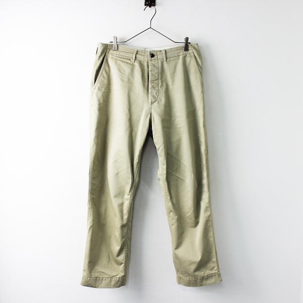 CORONA コロナ CP025 Desert Slacks Chino Cloth デザートスラックス チノクロスパンツ L/ベージュ メンズ【2400011687685】