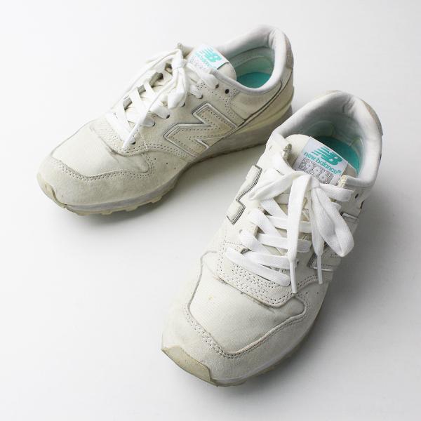 New Balance ニューバランス WR996EA PEARL WHITE スニーカー JP22/オフホワイト 靴 シューズ【2400011689559】