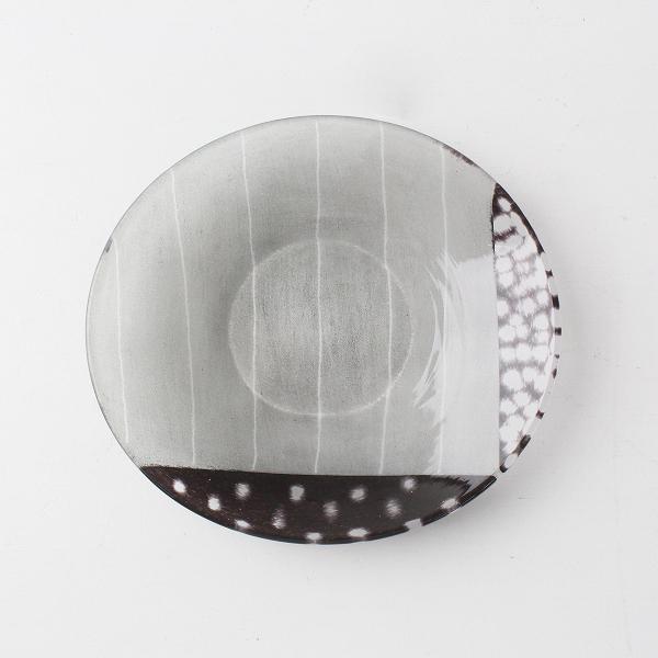 人気 未使用 保管品 作家 辻 和美 切り子 ガラス豆皿/食器 インテイア 【2400011691057】