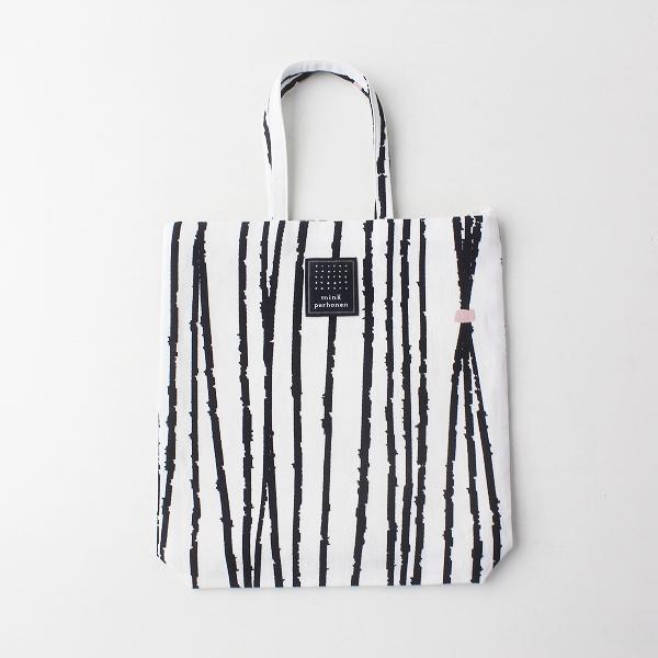 未使用品 2020SS mina perhonen ミナペルホネン ys9197 toast bag -taba-トーストバッグ/ストライプ トートバッグ【2400011691132】
