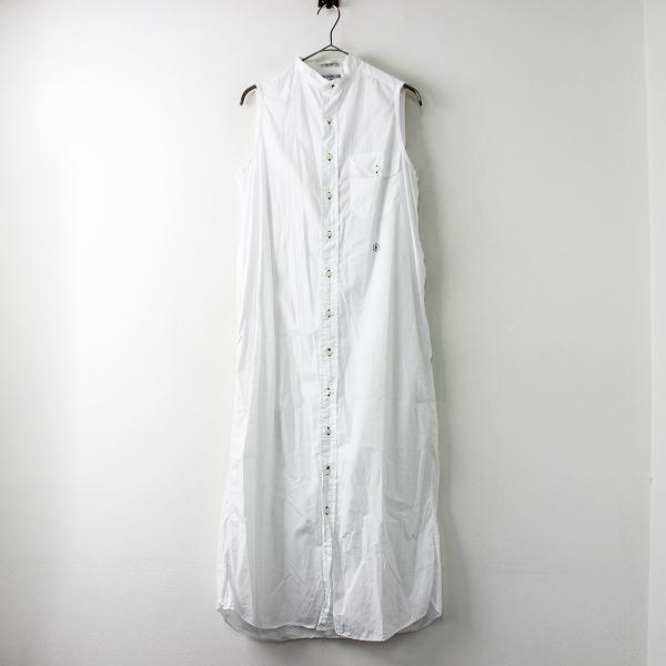 INDIVIDUALIZED SHIRTS for iliann loeb インディビジュアライズドシャツ イリアンローブ ノースリーブワンピース /白【2400011693280】