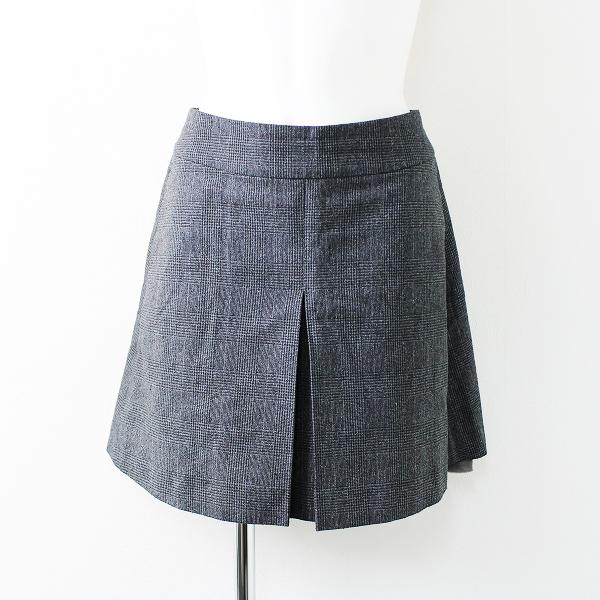 Sacai サカイ グレンチェック シルク 巻きスカート 1/グレー ボトムス ラップ【2400011707956】
