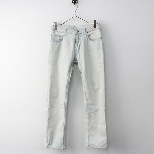メンズ lideal リディアル Pose ライトインディゴ デニムパンツ 29/ストレートジーンズ【2400011712431】