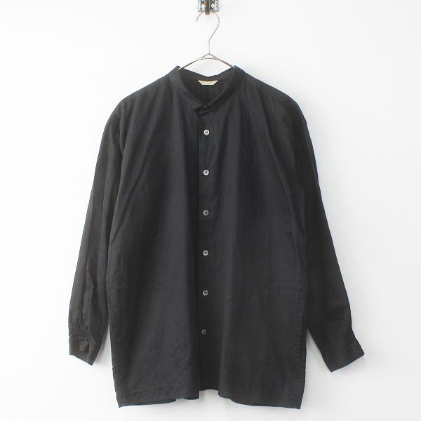 美品 2018SS 春夏 ARTS&SCIENCE アーツ&サイエンス Smocking gather shirt sモッキング ギャザー シャツ 1/ブラック【2400011720405】