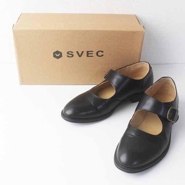メンズ SVEC シュベック ストラップマニッシュシューズ 42(26.0cm) /ブラック ベルト 靴 【2400011731227】