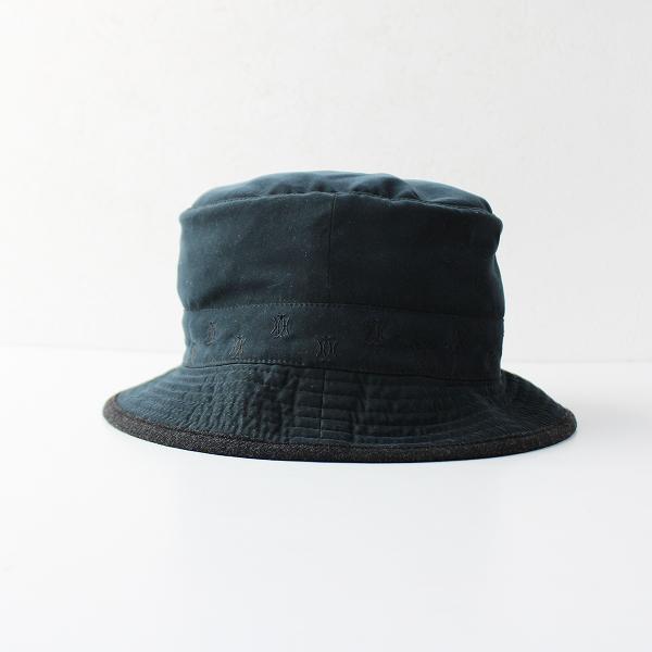 MOTSCH POUR HERMES モッチプールエルメス 裏地ウール モールスキンハット56///ブラック系 帽子【2400011739216】