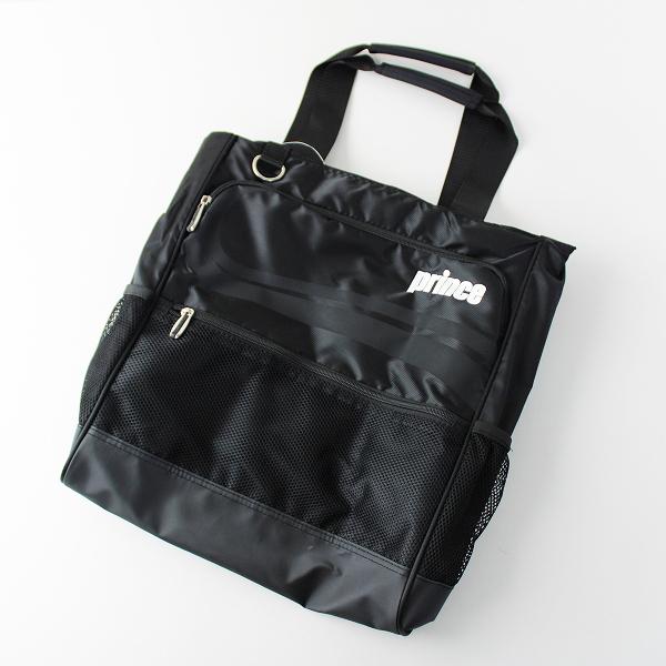 PRINCE プリンス スポーツ トートバッグ/ブラック BAG 大容量 かば【2400011749444】