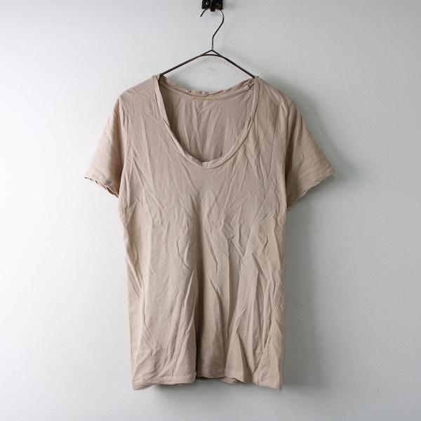定価1.2万 2019SS Deuxieme Classe ドゥーズィエムクラス 19070500714010 Garment Dye Tシャツ Free/ピンクベージュ【2400011754042】