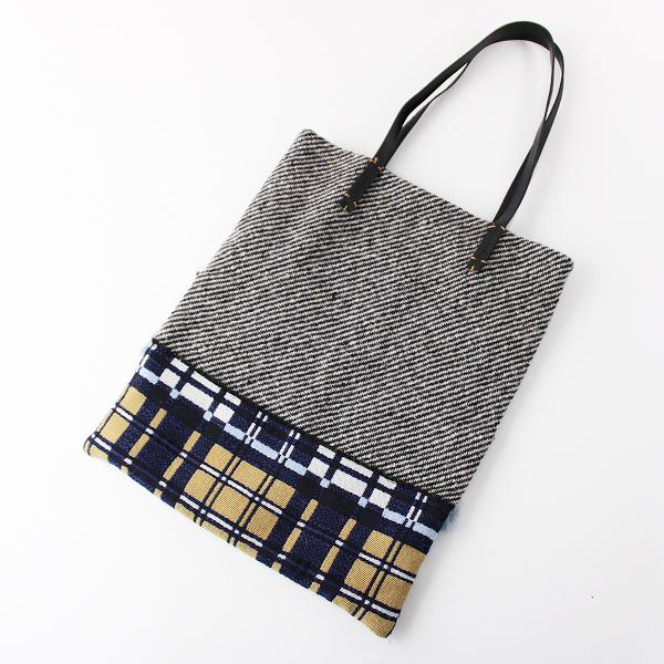 Bon Vieux Temps ボンビュータン パッチワーク トートバッグ/小物 鞄 かばん【2400011758637】