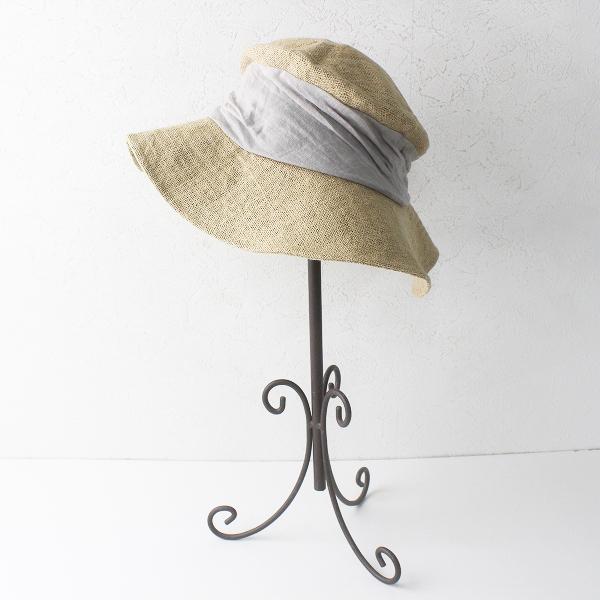 定価1.3万 mature ha. マチュアーハ jute drape hat middle ジュートドレープハット /ナチュラル 麦わら帽子【2400011772510】-.