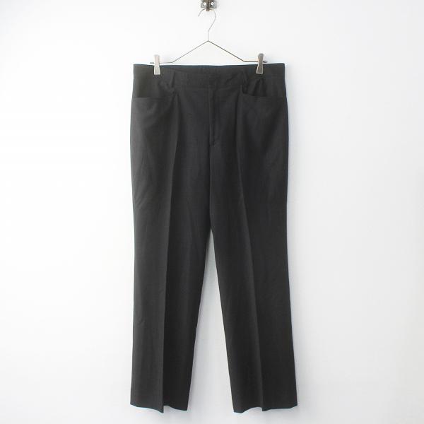 大きいサイズ NEWYORKER ニューヨーカー ストレッチ センタープレス パンツ 15/ブラック【2400011778222】