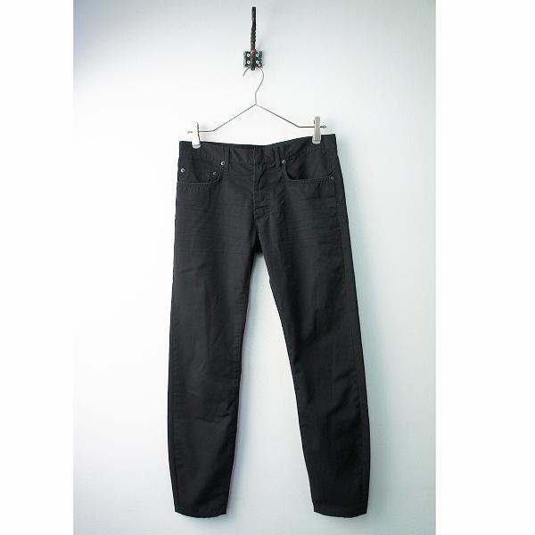 メンズ 国内 Dior HOMME ディオール オム 2005SS 5EH1011498 コットン シワ加工パンツ 30/ボトムス 男性用【2400011794574】