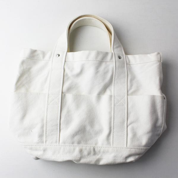 YAEKA ヤエカ キャンバス トート ツールバッグ /ホワイト TOOL 手提げ ハンドバッグ カバン【2400011803719】