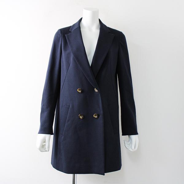 Lois CRAYON ロイスクレヨン ステンカラージャケット コート M/ネイビー ハオリ ボタン アウター【2400011809193】