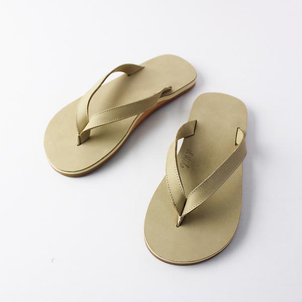 新品 EL NIDO FLIPS FLIPS エルニドフリップス ビーチサンダル 37/ベージュ 靴 フラット【2400011809988】