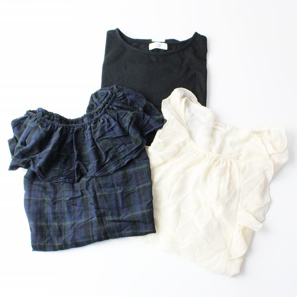 Te chichi テチチ 半袖 シャツ ブラウス 3点セット まとめ売り M F/トップス【2400011812070】