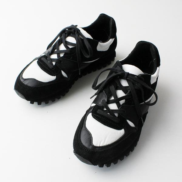 【期間限定20%OFF】美品 ZDA ゼットディーエー スロバキア Marathon マラソン スニーカー 37/ブラック 靴【2400011812940】