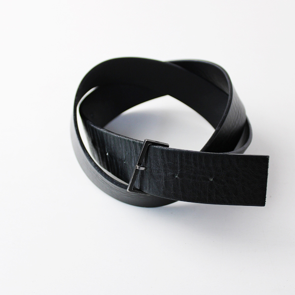 【期間限定30%OFF】Dior ディオール レザー ベルト/ブラック【2400011818386】