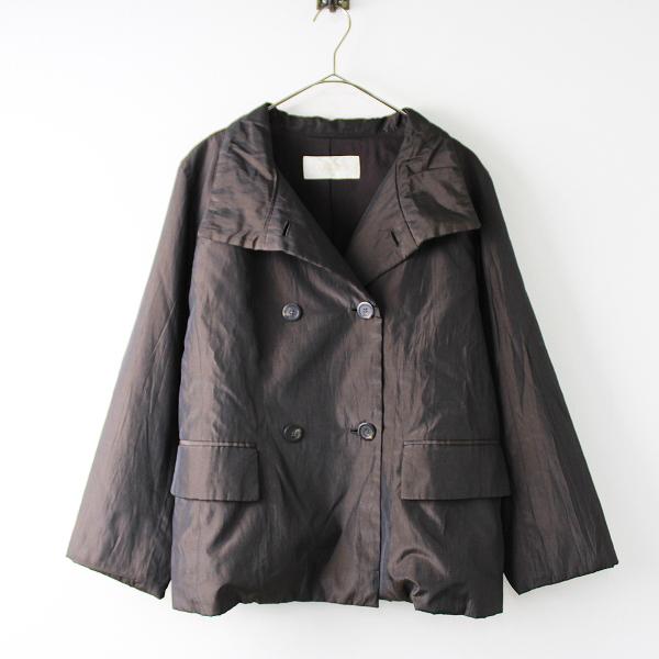 大きいサイズ CORDIER コルディア 中綿 ジャケット 42/ブラウン アウター 上着【2400011821980】