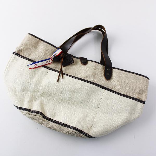 TAMPICO タンピコ キャンバスラウンドガーデンバッグ/ナチュラル トートバッグ TOTE BAG【2400011825032】