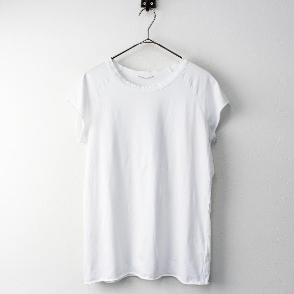 定価1.2万 2018SS Deuxieme Classe ドゥーズィエムクラス ラグラン Tシャツ free/シロ カットソー フレンチスリーブ【2400011827166】-.