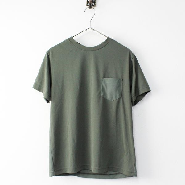 【期間限定30%OFF】美品 メンズ THE NORTH FACE ノースフェイス NT31936 Color Panel Tシャツ S/カーキ プルオーバー トップス【2400011827272】