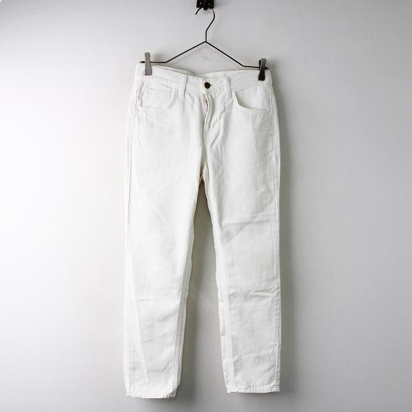Lee リー LL1113 コットン ホワイトデニム パンツ S/ホワイト ボトムス ジップフライ【2400011829801】
