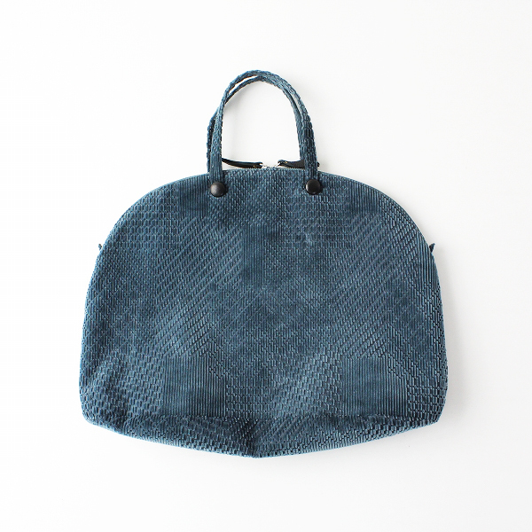 2018AW mina perhonen ミナペルホネン xa9520 bell bag -land puzzle- ベルバッグ/ハンドバッグ【2400011840783】