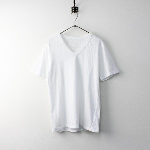 美品 2020SS MM6 Maison Margiela メゾンマルジェラ AIDS T-SHIRT エイズロゴTシャツ M/ホワイト カットソー 定番【2400011853851】