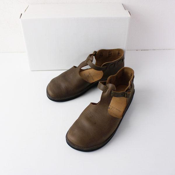 オーロラシューズ WEST INDIAN ウエストインディアン Tストラップシューズ 7.5C/ブラウン 靴 フラット【2400011856739】