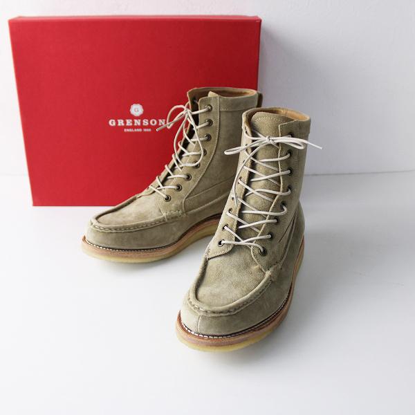 定価5.1万 2018AW journal standard luxe ジャーナルスタンダード GRENSON グレンソン Lace up Boots 38/24cm【2400011865441】