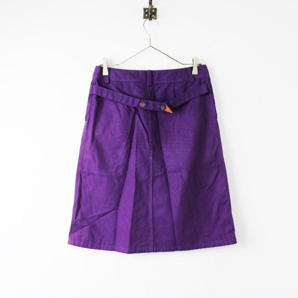 Pal'las Palace パラスパレス コットン 台形スカート 2/パープル ボトムス【2400011869074】