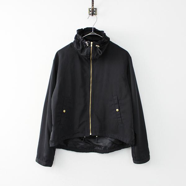 美品 B:MING by BEAMS ビームス スタンドカラージップアップブルゾン M/ブラック ジャケット【2400011870179】