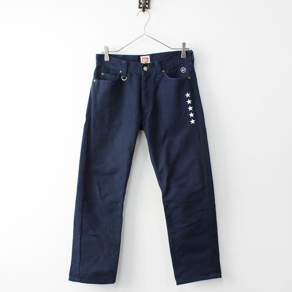 メンズ uniform experiment × carhartt ユニフォームエクスペリメント カーハート コットンワークパンツ 28///ネイビー【2400011876102】
