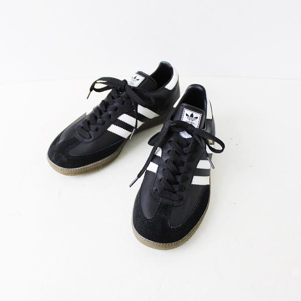 未使用品 adidas originals アディダスオリジナルス SAMBA OG スニーカー 23.5/ブラック×ホワイト【2400011890191】