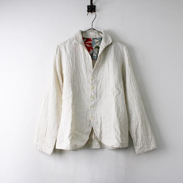 Pal'las Palace パラスパレス コットン リネン ジャケット 3/オフホワイト トップス 羽織り【2400011893451】