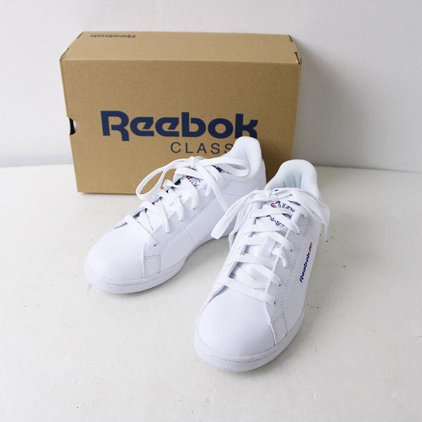 新品 Reebok リーボック CLASSIC NPC II スニーカー 23.5/ホワイト 靴 シューズ メンズ NBB取扱【2400011894496】