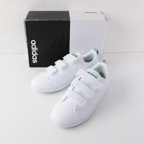 新品 adidas アディダス AW5210 バルクリーン2 ベロクロスニーカー 24cm/ホワイト シューズ【2400011900081】