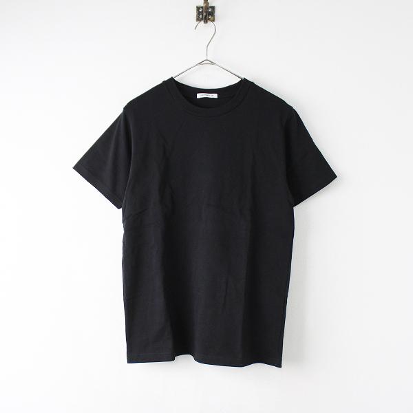 美品 定価1万 2019SS Deuxieme Classe ドゥーズィエムクラス EVERYDAY Tシャツ F/ブラック【2400011900838】-.